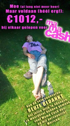 Vierdaagse Nijmegen voor Mama Cash, sponsorloop