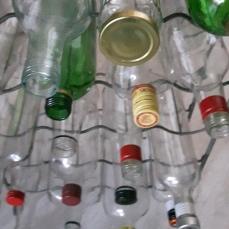 Glazen flessen (en vooral ook veeuul glazen potjes, in alle soorten en maten!)...