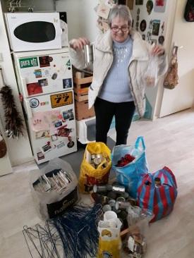 recyclewaren, afval, hergebruik, delen